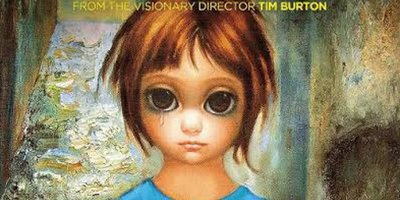 Two Posters for Tim Burton's 'Big Eyes' Starring Amy Adams & Christoph Waltz