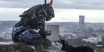 Robot Chappie Discovers His Humanity in New Action Thriller