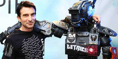 """Maleficent"" Baddie Sharlto Copley Breathes Life to ""Chappie"""