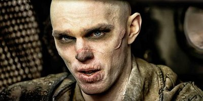 Nicholas Hoult Has a Glorious Death-Wish in Mad Max: Fury Road