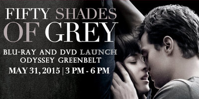 50 Shades of Grey Blu-Ray and DVD Launch